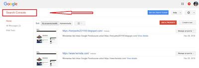pencarian artikel di google search engine