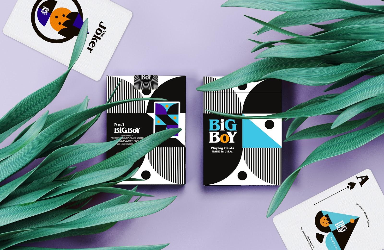 Kết quả hình ảnh cho BIG BOY NO.1 PLAYING CARDS