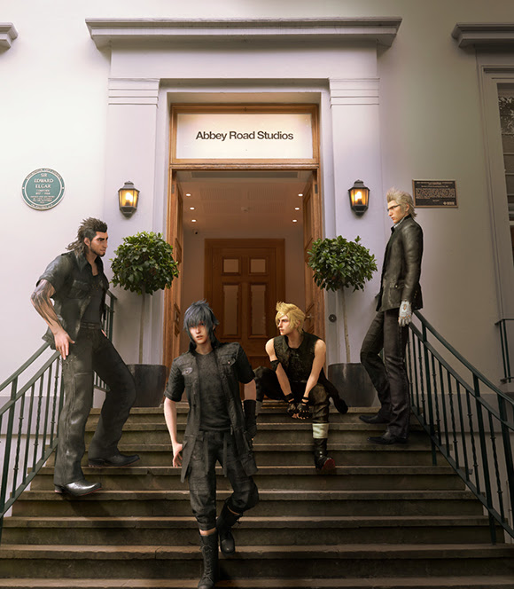 Final Fantasy XV en direct d'Abbey Road Studios