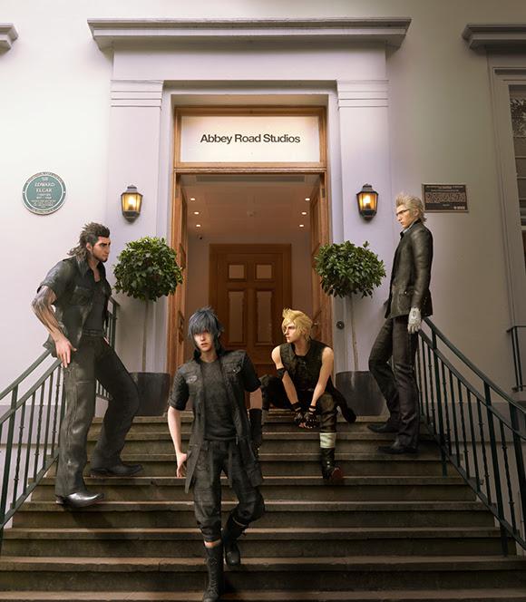 Final Fantasy XV en direct d'Abbey Road Studios