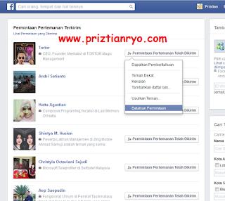 Cara Melihat Pertemanan Yang Belum Dikonfirmasi di Facebook