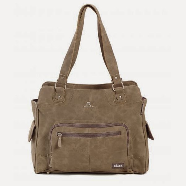 Suede Stylish Changing Bag
