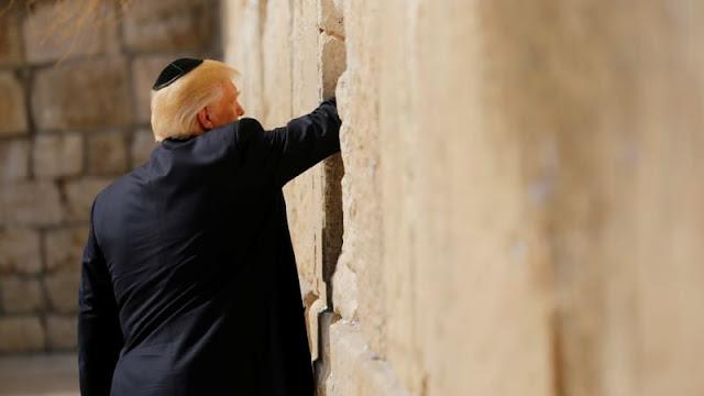 Israel Berencana Bangun 'Stasiun Trump' Dekat Tembok Ratapan Yerusalem
