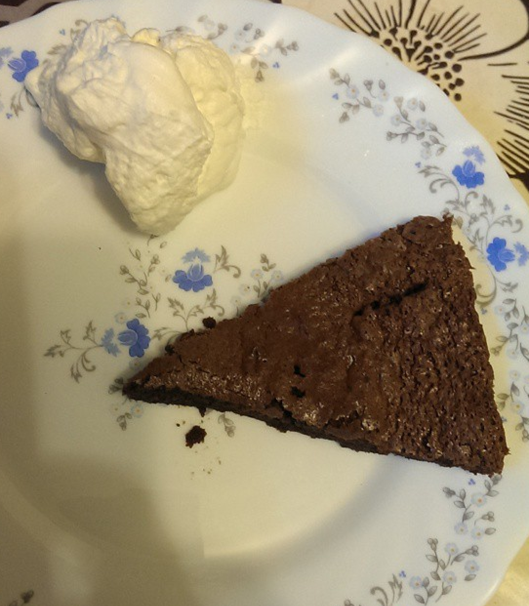 Chilli Chocolate Cake With Ginger Frosting