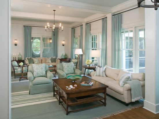 Eye For Design: Decorating With Robin's Egg Blue .......A