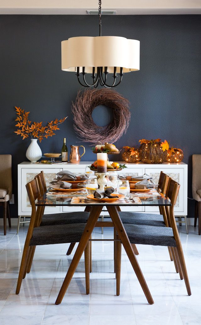 Our Fall Harvest Dining Room with Hayneedlecom  Design