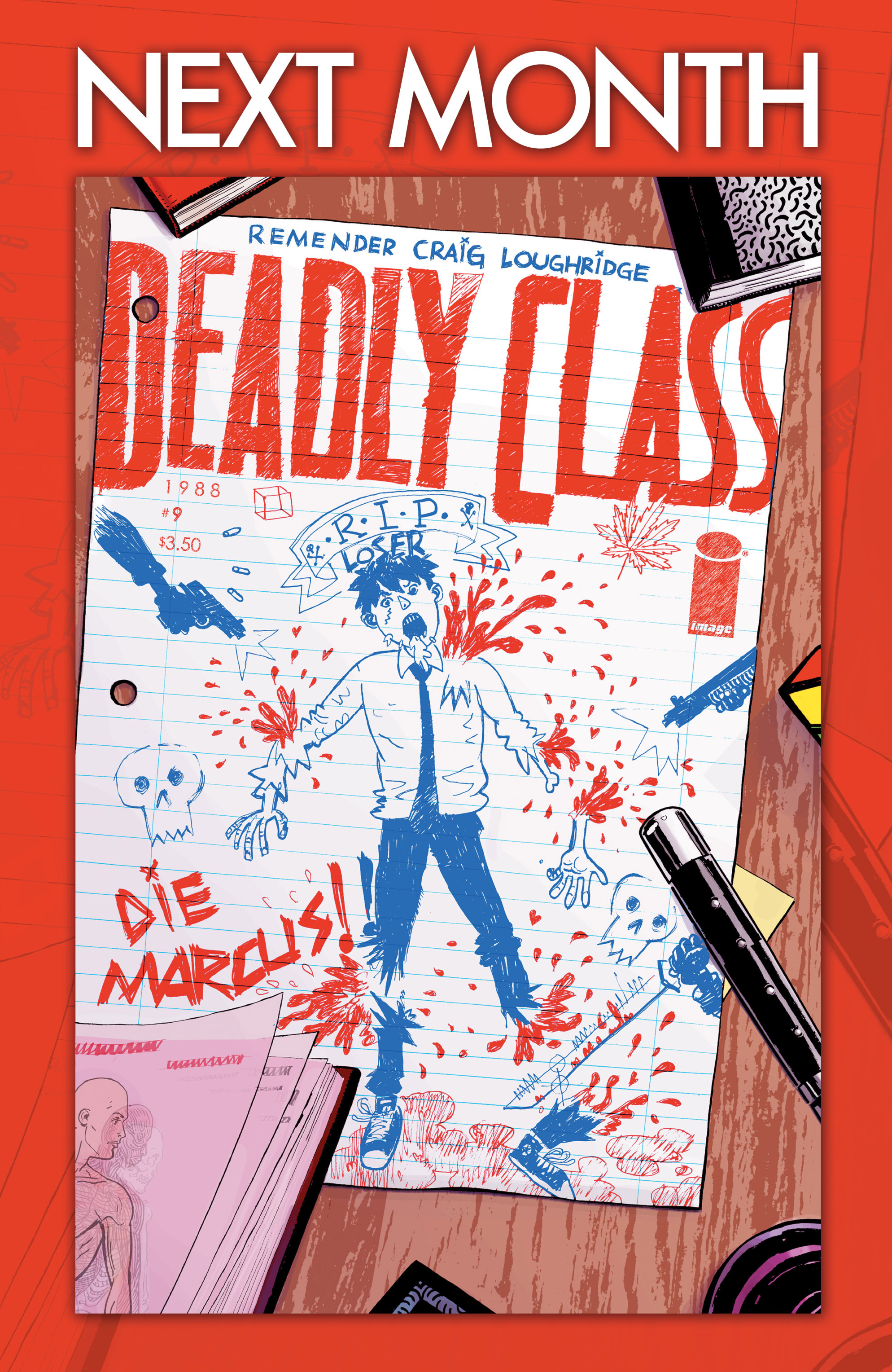 Read online Deadly Class comic -  Issue #8 - 27