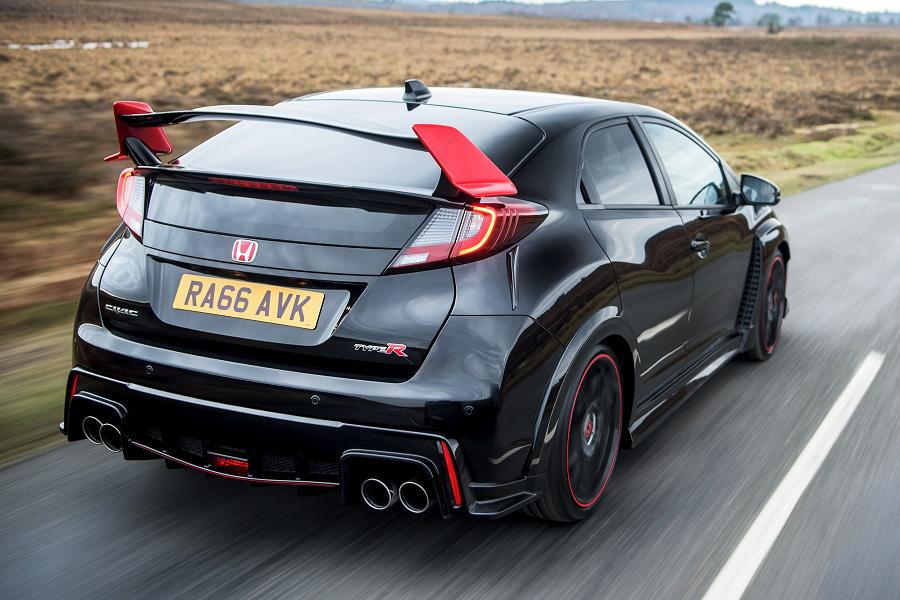 the run out honda civic type r black edition autoesque. Black Bedroom Furniture Sets. Home Design Ideas