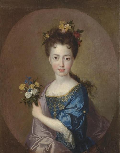 François de Troy - Portrait of Princess Louisa Maria Stuart