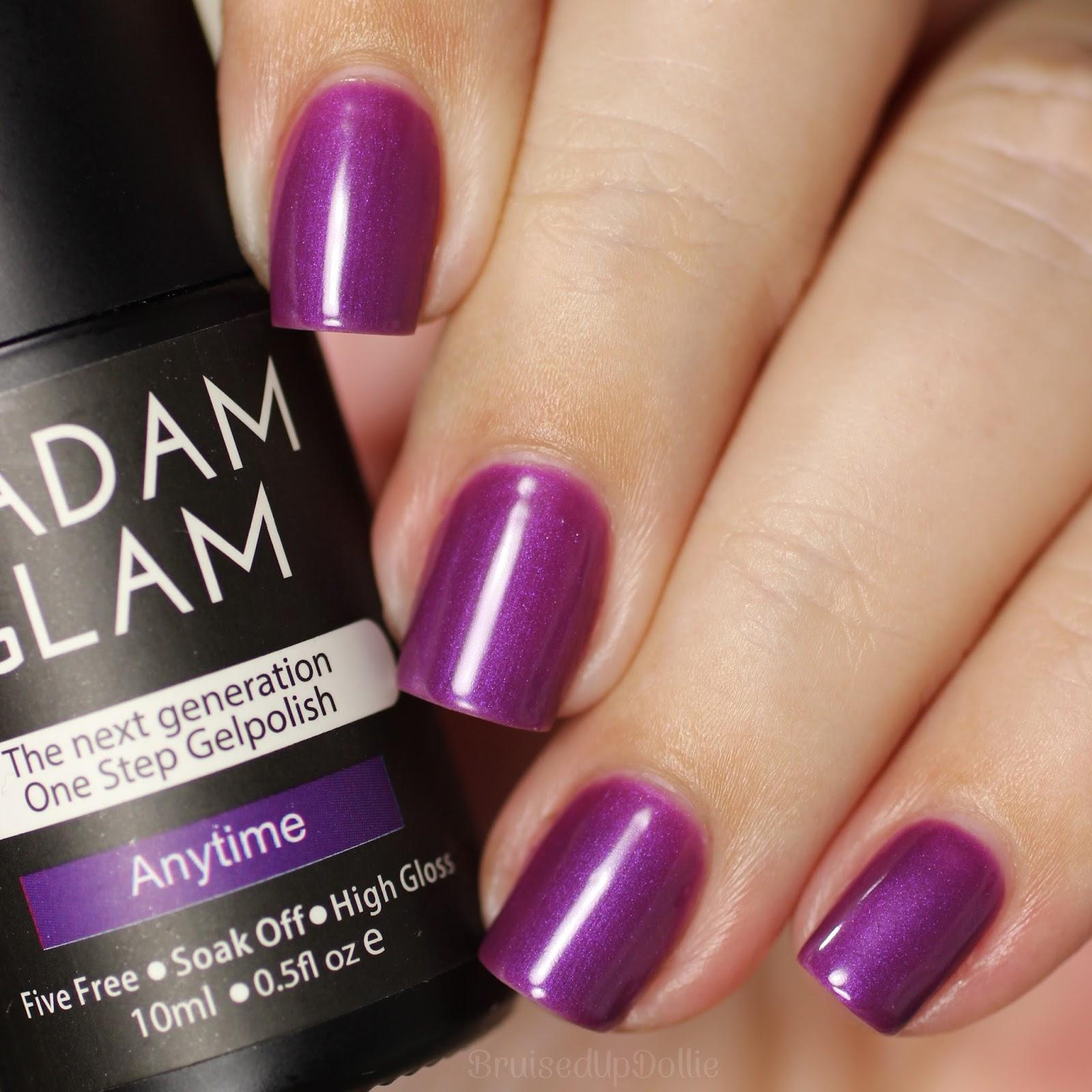 Madam Glam One Step Gel Swatches pt.1 - BruisedUpDollie Nails