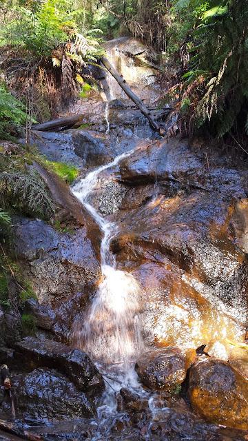La La Falls, Warburton