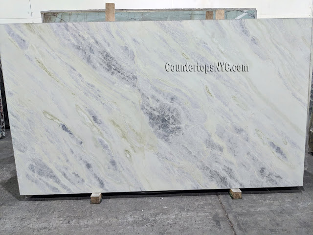 Jade Light Polished Marble Slab NYC