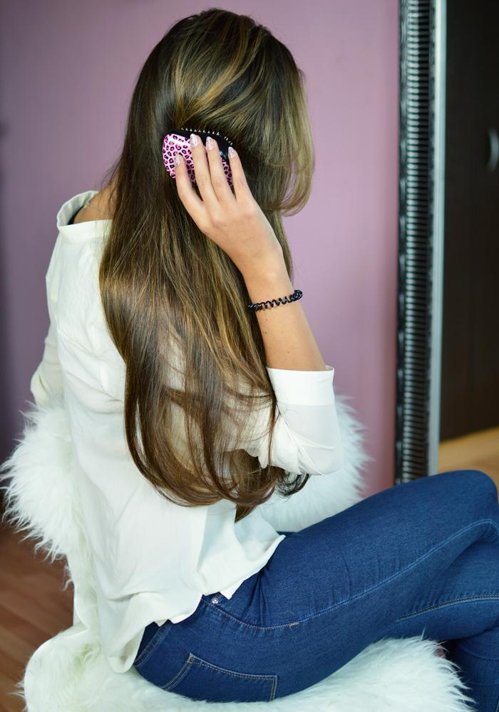 Plączące się włosy, problem z rozczesywaniem