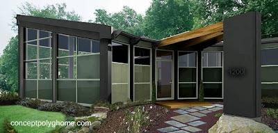 Casa residencial moderna bioclimática