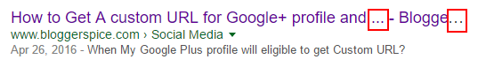 title tags in search engine