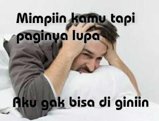Meme Lucu Terbaru Tentang Tidur