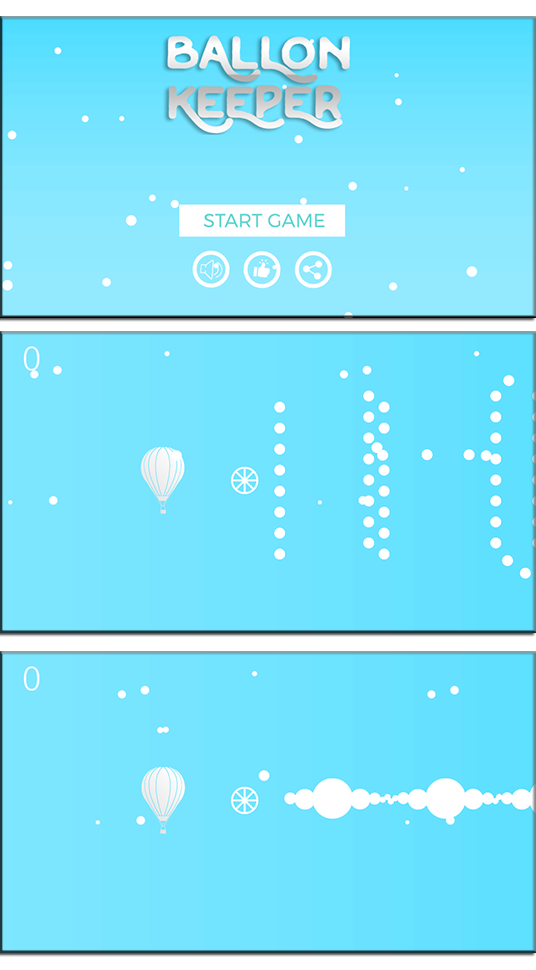 Ballon Keeper + Template Buildbox + Android studoi + admob - 1
