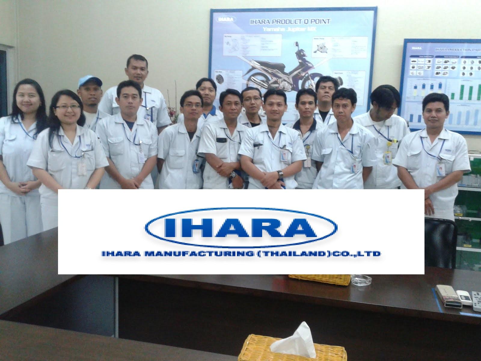Loker Terbaru Industri PT.IHARA Manufacturing Indonesia sebagai Operator Produksi