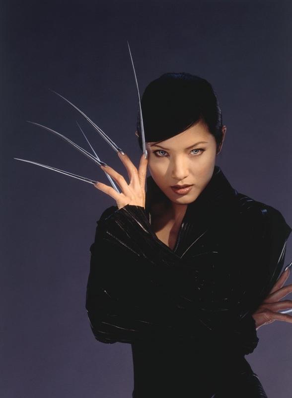 Kelly Hu from the movie X-MEN 2