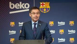 بارتوميو يعلن اهتمام برشلونة بالتعاقد مع دي ليخت