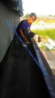 waterproofing untuk mencegah kebocoran