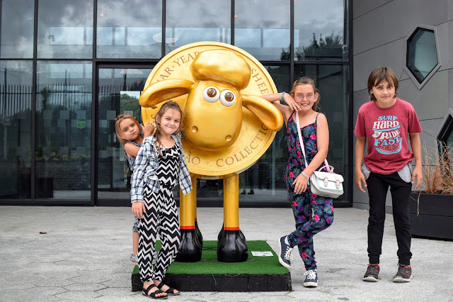 Royal Mint, The Royal Mint Experience, Llantrisant, days out, Shaunt the Sheep, Shaun-Xaio,