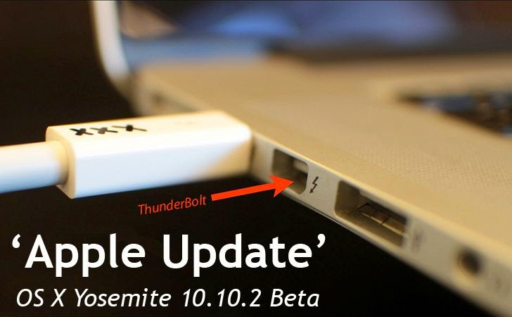 Apple OS X Yosemite 10.10.2 Update to Patch years-old Thunderstrike Hack