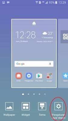 Tutorial Mudah Memunculkan Menu Pada Samsung Galaxy J3 Pro