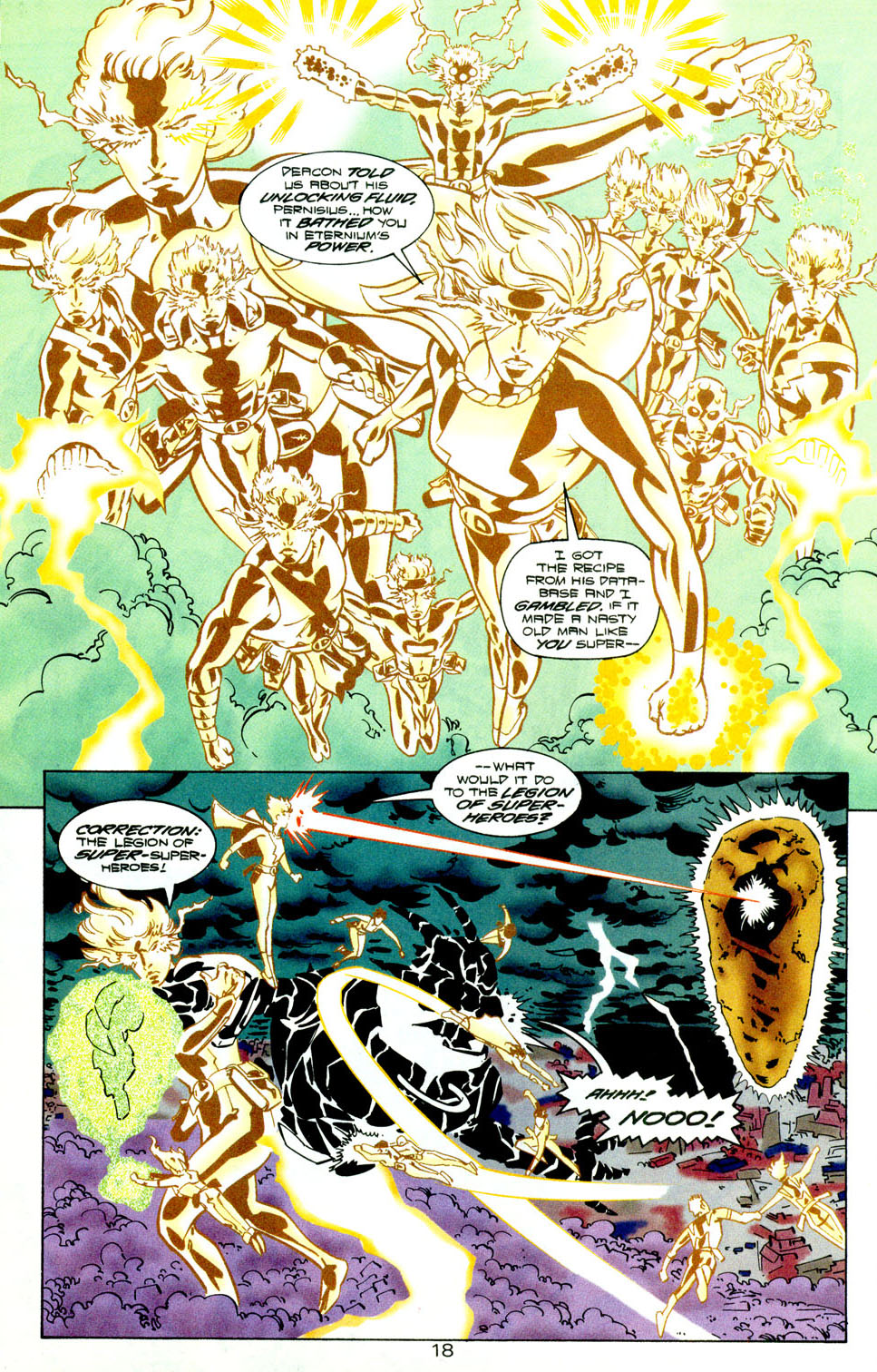 Legion of Super-Heroes (1989) 118 Page 19