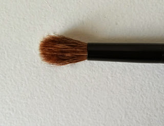 Mes pinceaux Hema eyeshadow brush blending
