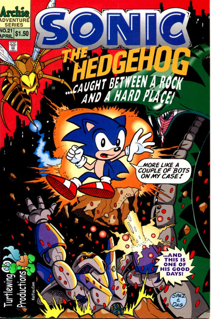 Read online Sonic The Hedgehog comic -  Issue #21 - 1