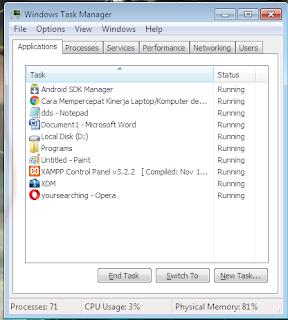 Membuat Kinerja Windows Berlari Lebih Kencang