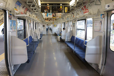 JR東日本209系500番台の車内