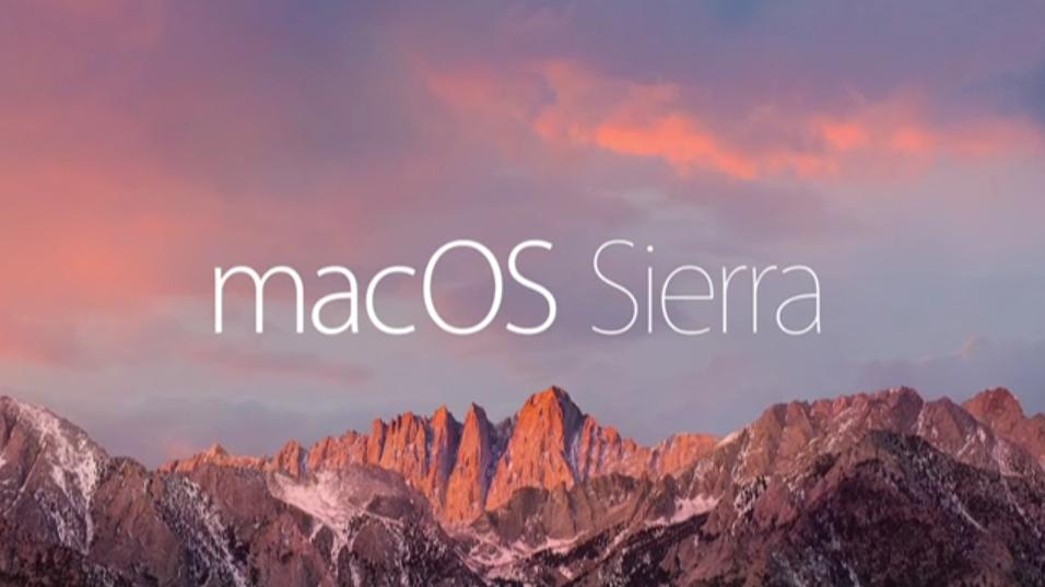 macOS Sierra disponibile al download HTNovo