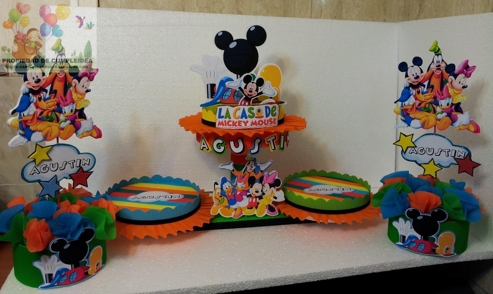 Decoraciones Para Cumplea Ef Bf Bdos Infantiles De Mickey Mouse