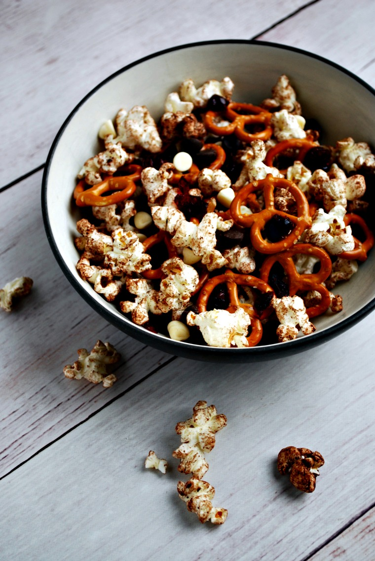 Chocolate and Pretzel Popcorn Snack - Allergen Free