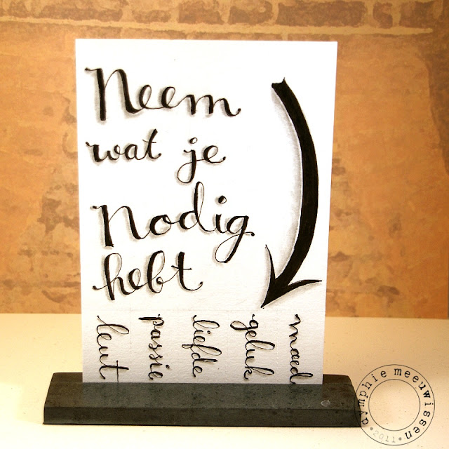 No Dig Com: Papieren Avonturen: Neem Wat Je Nodig Hebt #2 Take What