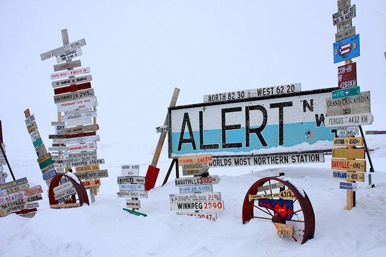 Alert: el asentamiento más septentrional del mundo | Canada