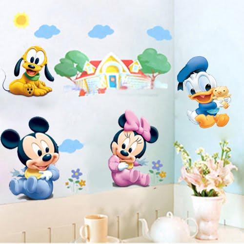 Ideas para tu bebe pegatinas infantiles baby disney for Pegatinas decorativas infantiles