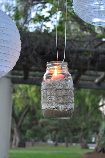 Diy mason jar lanterns make life lovely - Make hanging lanterns ...