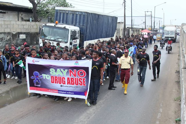 Drug Abuse Sensitization: Emzor, Over 2,000 Students Shake Lagos