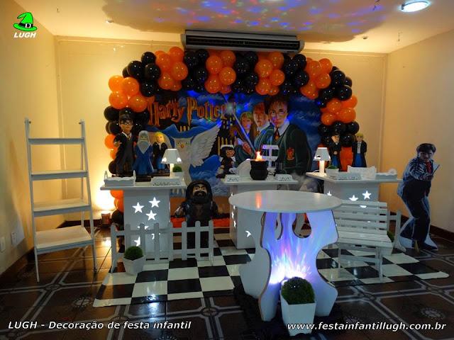 Decoração Harry Potter para festa de aniversário infantil - Mesa decorada na Barra - RJ
