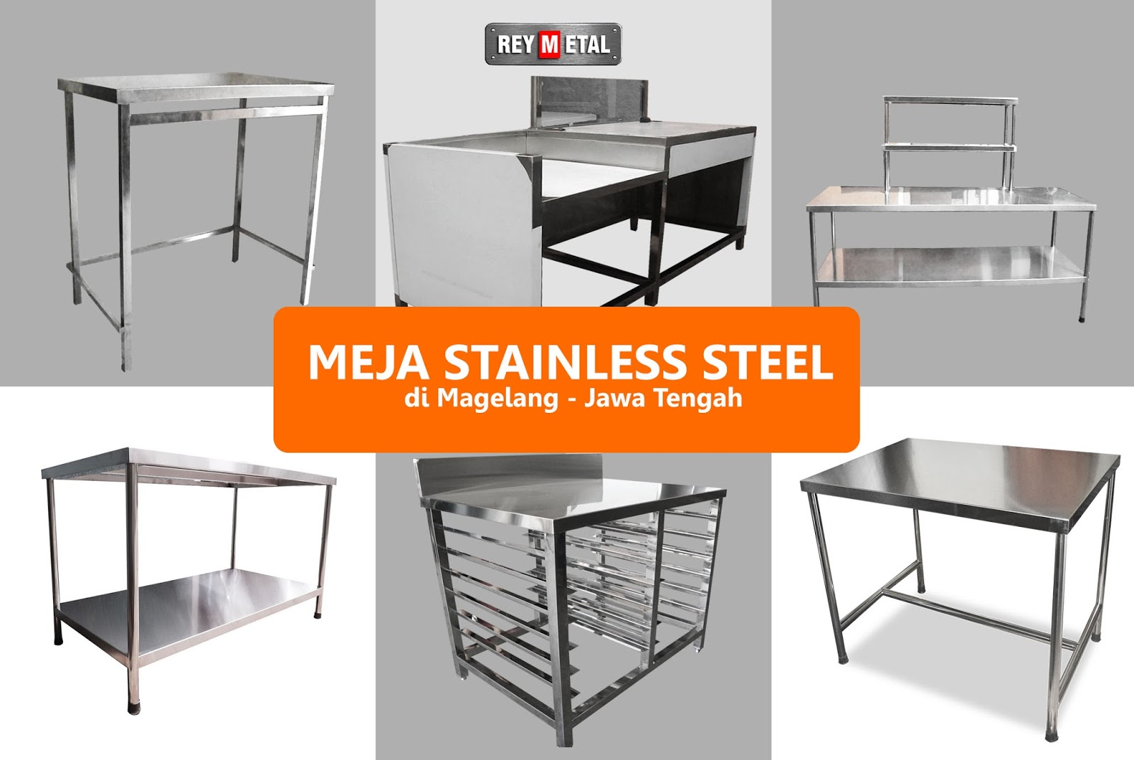 Jual Meja Dapur Stainless Murah Steel Di Magelang