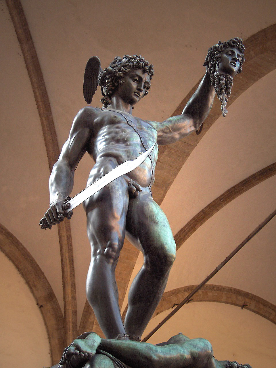 loggia dei lanzi skulpturen