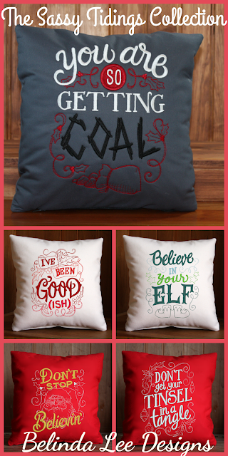 Gifts for the Sassiest of your Friends! | The Sassy Tidings Collection of Holiday Gift Pillows