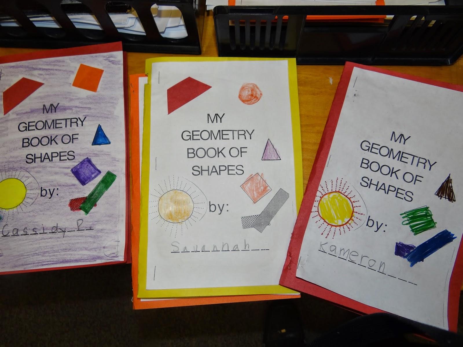Patties Classroom Geometry Shape Books And Pattern Block Art
