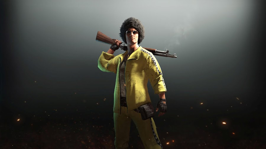 pubg golden tracksuit dlc pack