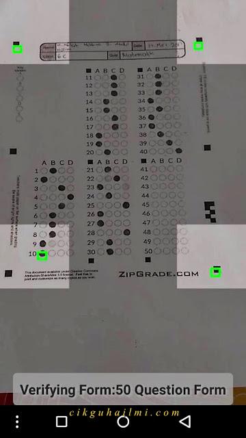 Tutorial Zipgrade Mudahkan Analisis Kertas Exam