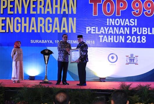 """""""Ibu Muda"""" Hantarkan Kota Padang Raih Penghargaan Top 99 Inovasi Pelayanan Publik"""