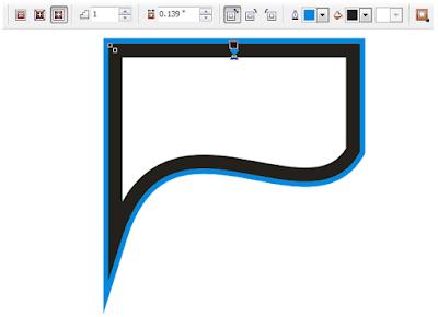 Cara Membuat Sudut Outline yang Tumpul Menjadi Lancip di CorelDRAW
